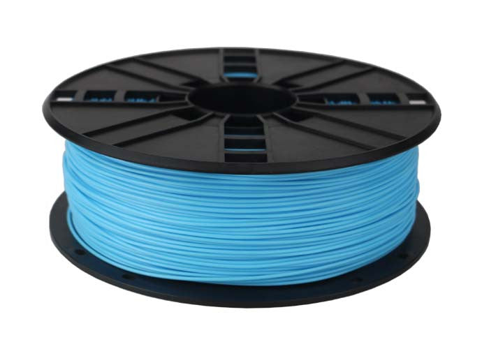 sky blue pla 3d printer filament 1.75mm