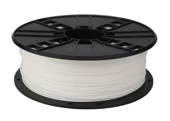 White PLA 3D Printer Filament 1.75mm