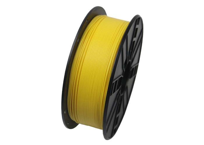 yellow 1.75mm pla 3d printing filament