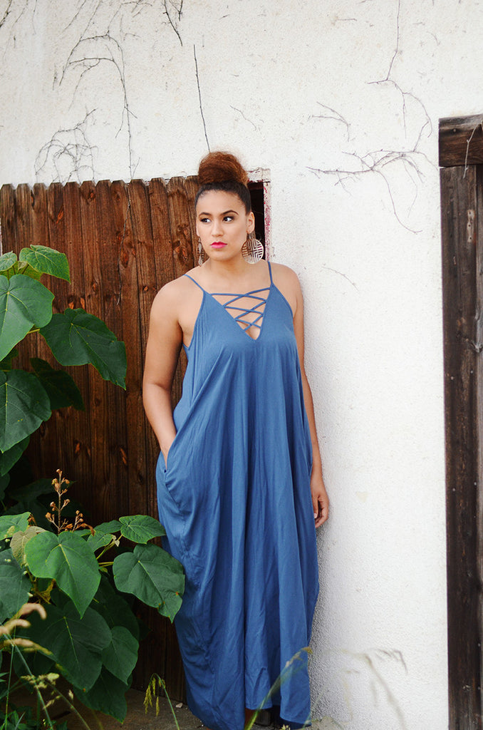 Sydney Pocketed Maxi Dress - Fit for a Queen