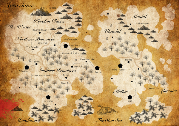 TDoSS Map of the West