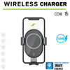 Image of Car Mount Charger - Certified Fast Wireless Phone Charger - Automatic Gravity 10W Qi Fast Charging Car Phone Holder