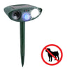 Image of Dog Outdoor Ultrasonic Repeller - Solar Powered Ultrasonic Animal & Pest Repellant