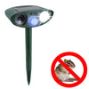Image of Ultrasonic Chipmunk Repeller - Solar Powered - Get Rid of Chipmunks in 48 Hours or It's FREE