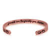 Image of Stainless Steel Bracelet - Cuff Bracelet - Friends are The Family You Choose