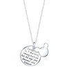 Image of Laughter is Timeless, Imagination has no Age, and Dreams are Forever - Pendant Necklace