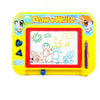 Image of Magnetic Drawing Board by Kidolino - Drawing Board for Kids with 2 Stamps and 1 Pen - Travel Size