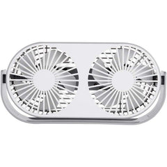 Desk Fan Small Tabletop Fan with Strong Airflow - Portable Mini USB Fan - 3 Cooling Speed - Adjustable Head 360° Rotatable