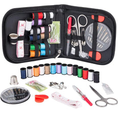 Ozetti Sewing Kit - DIY Sewing Supplies Organizer, Compact Kit for Home, Travel, and Camping & Emergency