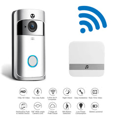 Smart Video Doorbell Camera - Motion Detector & Night Vision - Full HD