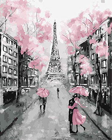 Paint by Numbers Kit for Adults by Alto Crafto - Paris