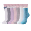 Image of Winter Socks for Women - Soft Warm Fluffy Cozy - [7 Pairs]