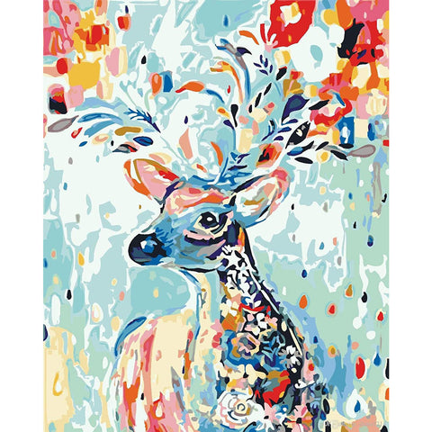 Christmas Deer Puzzle - Large Paper Jigsaw Puzzle [1000 Pieces]