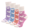 Image of Winter Socks for Women - Soft Warm Fluffy Cozy- [4 Pairs]
