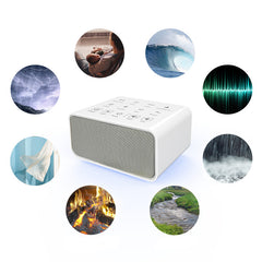 White Noise Machine - 8 Sounds - Portable Sleep Machine for Babies and Busy Professionals