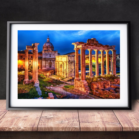 DIY Paint by Numbers Canvas Painting Kit for Kids & Adults - Rome Old City