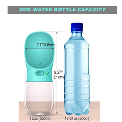 Dog 12oz Water Bottle