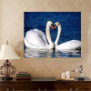 Image of Paint by Numbers Kit for Adults by Alto Crafto - White Swans