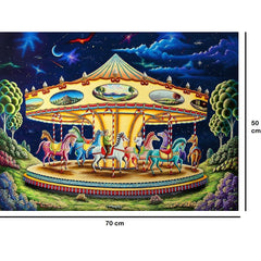 Carousel - Large Paper Jigsaw Puzzle [1000 Pieces]