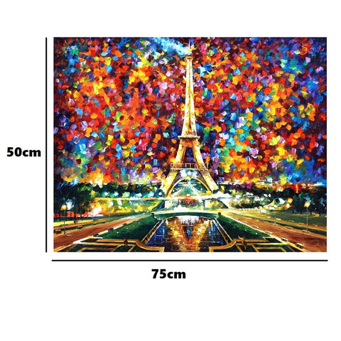 Eiffel Tower - Large Paper Jigsaw Puzzle [1000 Pieces]