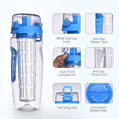 Ozetti Infuser Water Bottle - 32oz