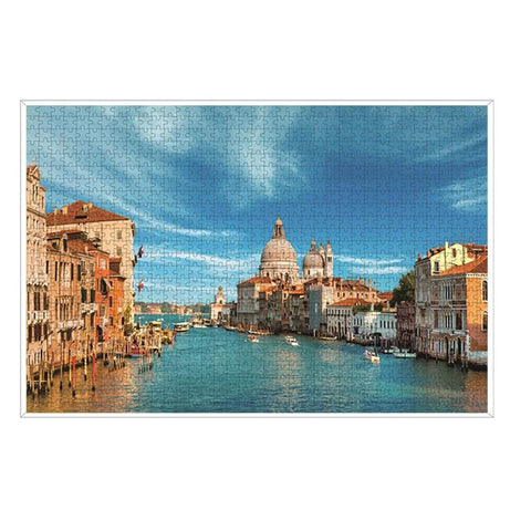 Venice Italy Puzzle - Large Paper Jigsaw Puzzle [1000 Pieces]