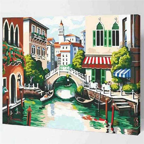 DIY Paint by Numbers Kit for Adults - Venice