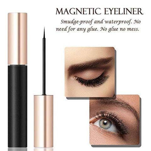 Magnetic Lashes Kit - Reusable - [10 Pairs]