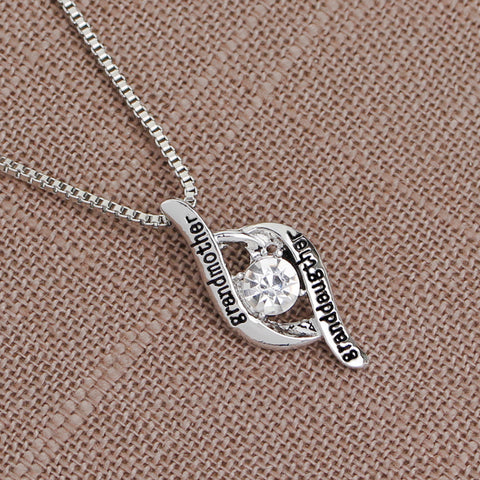 Grandmother & Granddaughter - Pendant Necklace