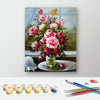 Image of Paint by Numbers Kit for Adults by Alto Crafto - Flowers Painting