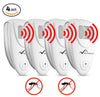 Image of Ultrasonic Mosquito Repeller - PACK OF 4 - 100% SAFE for Children and Pets - Get Rid Of Mosquitoes In 7 Days Or It's FREE