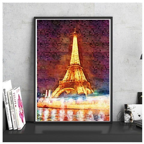 Night Lights - Large Paper Jigsaw Puzzle [1000 Pieces]