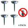 Image of Beetle Outdoor Ultrasonic Repeller PACK OF 4 - Solar Powered Ultrasonic Animal & Pest Repellant - Get Rid of Beetles in 48 Hours or It's FREE