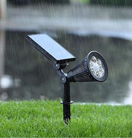 Upgraded Solar Outdoor Light 6 LED 300 LUM Waterproof - Auto On/Off