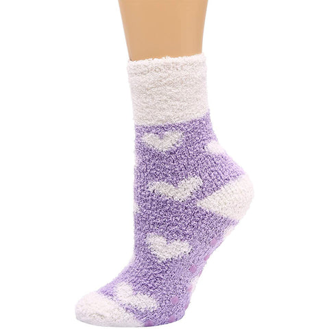 Winter Socks for Women - Soft Warm Fluffy Cozy- [4 Pairs]