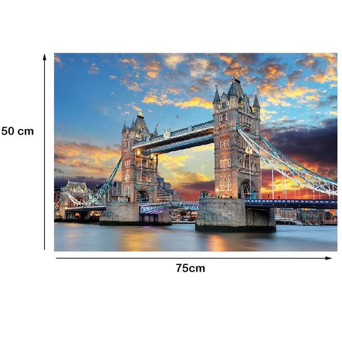 London - Large Paper Jigsaw Puzzle [1000 Pieces]