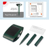 Image of Cat Outdoor Ultrasonic Repeller - PACK of 2 - Solar Powered Ultrasonic Animal & Pest Repellant