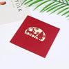 Image of 3D Christmas Pop Up Card and Envelope -  Christmas life