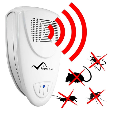 Ultrasonic Pest Repeller - Pack of 4