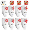 Image of Ultrasonic Bed Bug Repeller - PACK of 8 - 100% SAFE for Children and Pets - Quickly Eliminate Pests