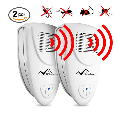 Ultrasonic Pest Repeller - PACK of 2