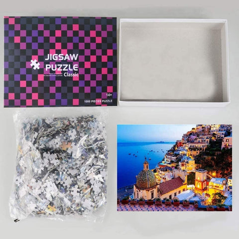 Night in Italy - Large Paper Jigsaw Puzzle [1000 Pieces]