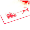 Image of 3D Christmas Pop Up Card and Envelope - Winter nature