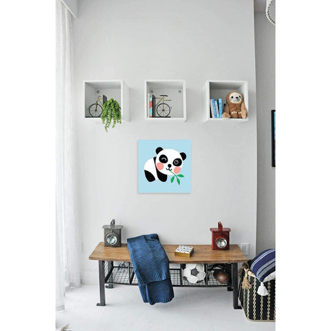 "DIY Acrylic Painting, Paint by Number Kits for Kids Beginner - Cute Panda 8"" x 8"""