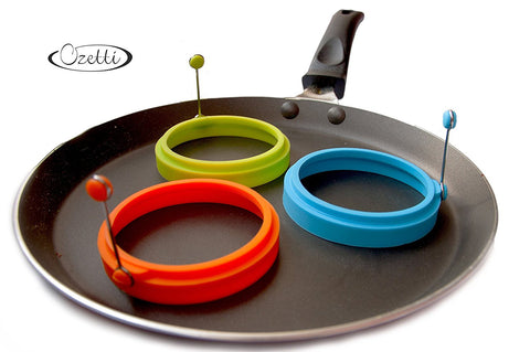 Silicone Egg Rings by Ozetti