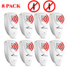 Image of Ultrasonic Earwig Repeller - PACK of 8 - Get Rid Of Earwigs In 48 Hours Or It's FREE