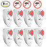 Image of Ultrasonic Mosquito Repeller - PACK OF 8 - 100% SAFE for Children and Pets - Get Rid Of Mosquitoes In 7 Days Or It's FREE