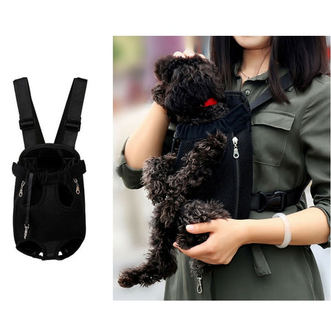 Adjustable Pet Carrier Backpack for Dogs and Cats