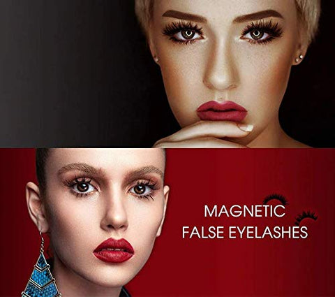 Magnetic Eyeliner and Lashes Kit [5 Pairs]