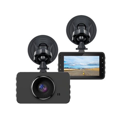 "Dash Cam PACK OF 2, 1080P Car DVR Dashboard Camera Full HD with 3"" LCD Screen 120°Wide Angle, WDR, G-Sensor, Loop Recording and Motion Detection"